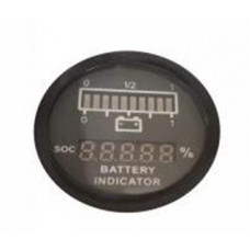 BATTERY INDICATOR FOR LITHIUM BATTERY, ROUND SHAPE